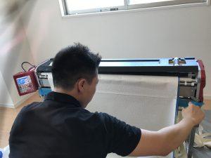 九州 福岡 内装 美装 壁紙 クロス教室 エアコンクリーニングまで 小倉美装 現場の様子