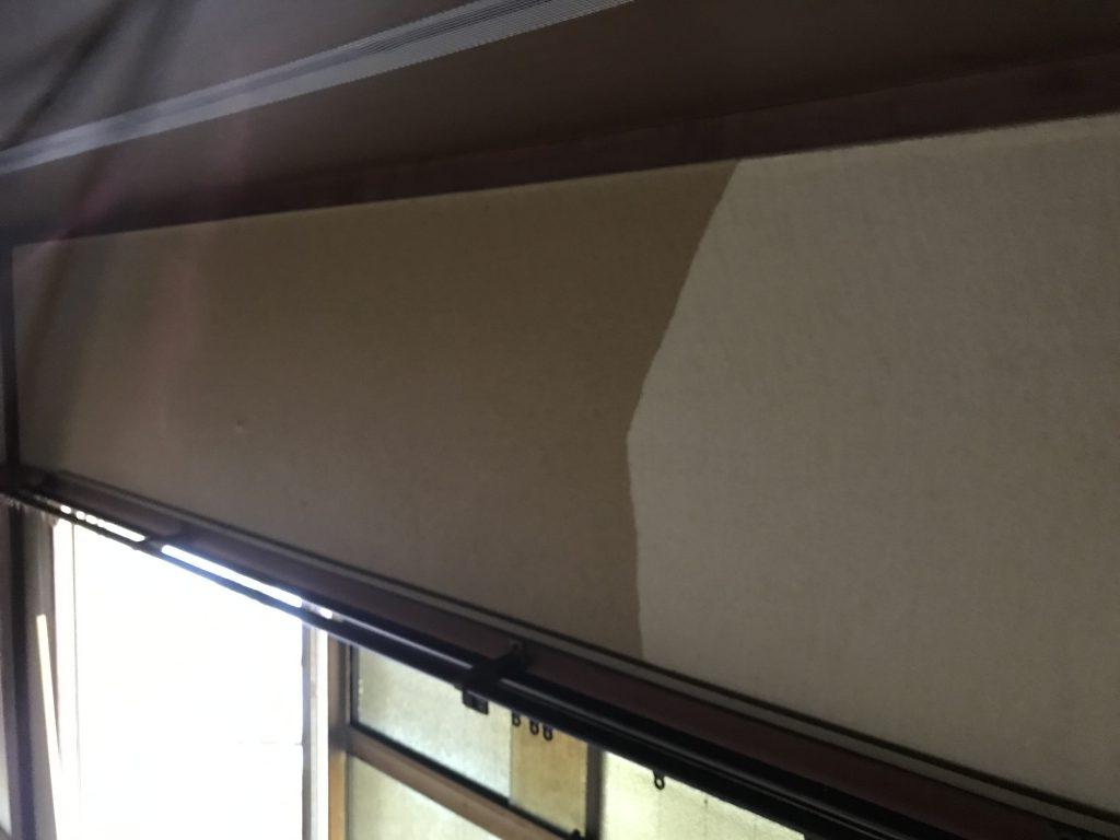 北九州市の内装工事なら小倉美装  ヤニ汚れ壁の貼り替え